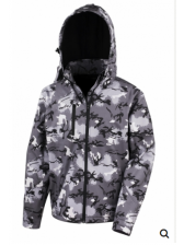 ЈАКНА CAMO TX PERFORMANCE HOODED SOFTSHELL