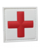 ПЕЧ BIG CROSS MEDIC WHITE AND RED