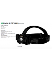 ЛАМПА ЗА ГЛАВА MAGNUM UNISEX HEAD LAMP TROOPER